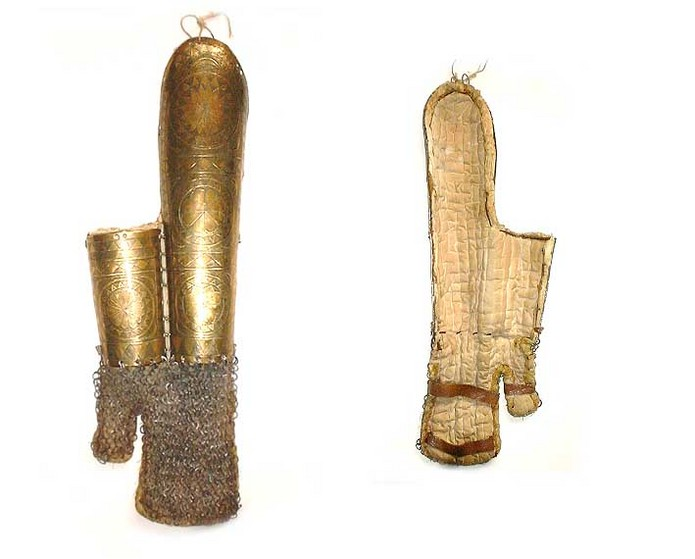Turkish or Sudanese Brass BazuBand Armguard armor