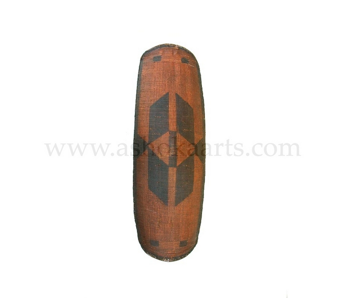 Fine Benge Tribal Cane Shield from the Congo
