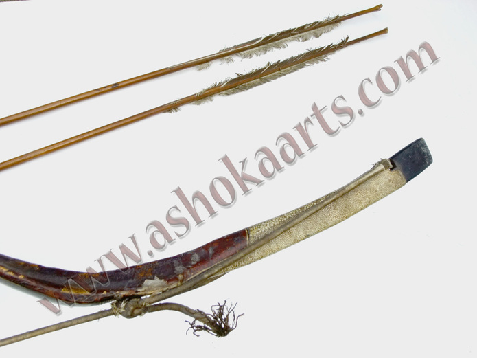 two original goose feather quilled arrows