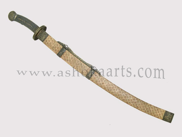 Fine antique Chinese Sword Yanmadao or Goosequill Saber