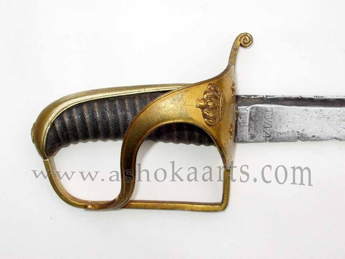 Swedish Military sword with Russian Tula blade