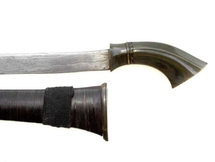 Rare parang klewang sword from Western Java Indonesia