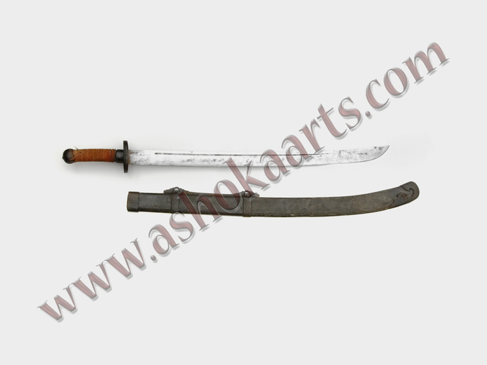 authentic Genuine 19th century Heavy Chinese Dao sword