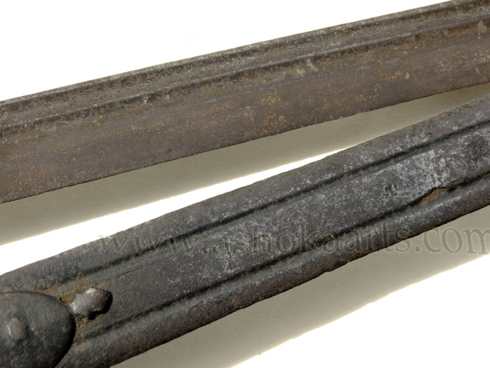 one blade marked 'clemens' and with crosses, from solingen Germany