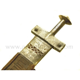 Antique Hausa or Nupe Takouba Sword